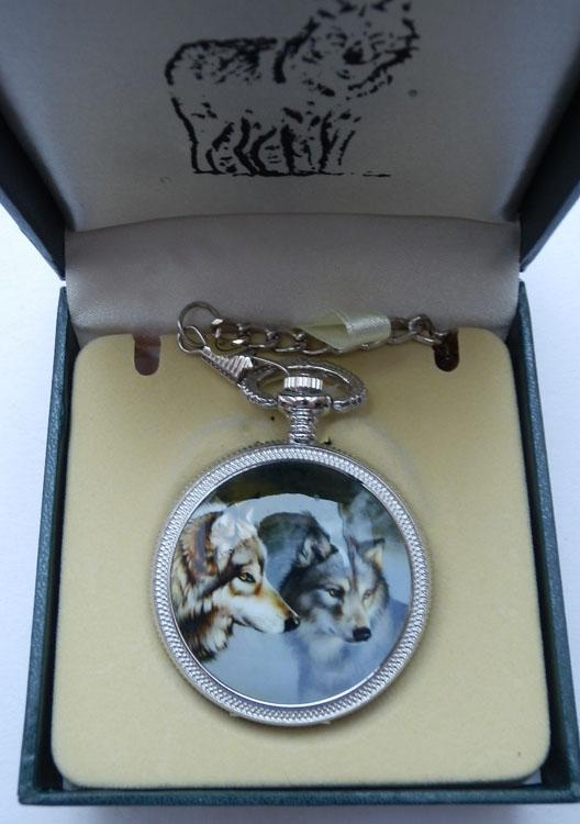 Infinity Pocket Watch Wolf Outdoormesser De