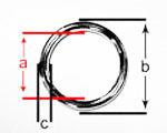 5 v4a edelstahl o ringe 5 x 50 mm. Black Bedroom Furniture Sets. Home Design Ideas