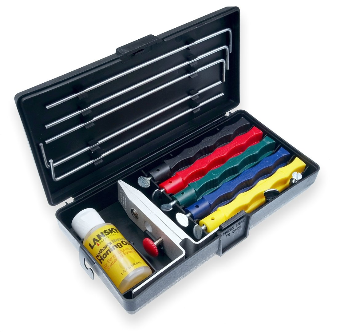 Deluxe 5-Stone Sharpening System 1 Pack