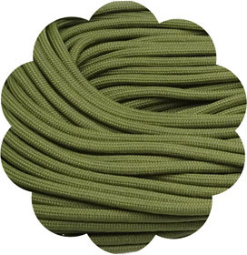 P.cord Paracord 550 Moss