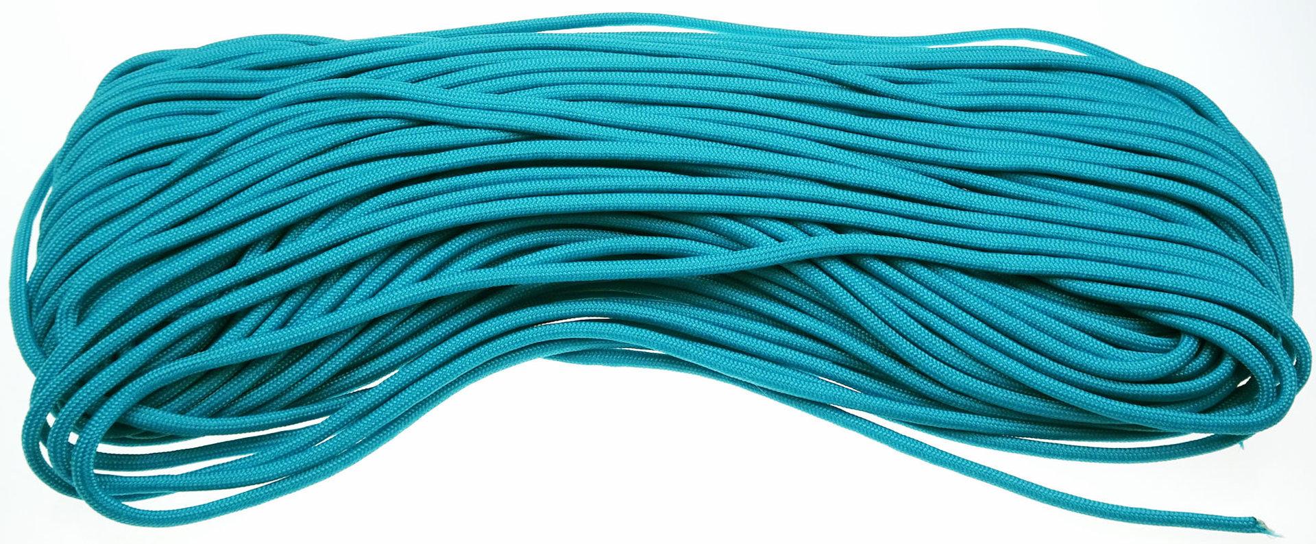 P Cord Paracord 550 Neon Turquoise Outdoormesser De