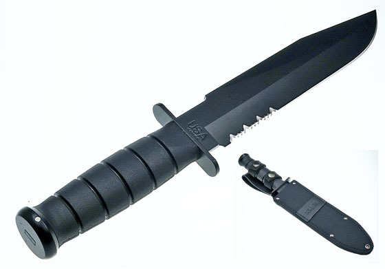 "Ka-Bar 1271 USA 8"" Fighter mit Kratongriff"