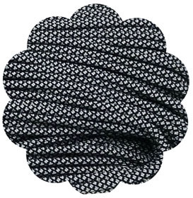 P.cord Paracord 550 Silver Diamonds