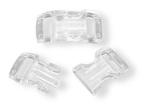 Bracelet-Buckle klein, transparent