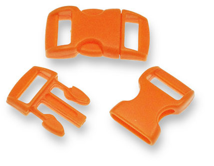 Bracelet-Buckle small, orange