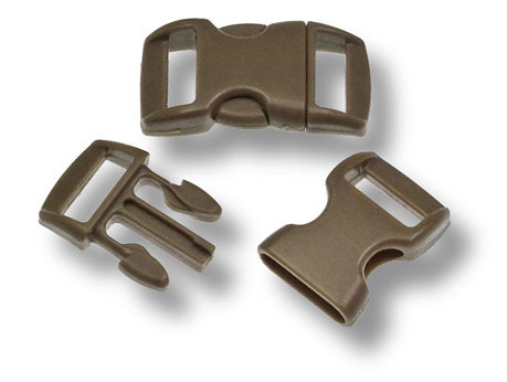 Bracelet-Buckle klein, Brown