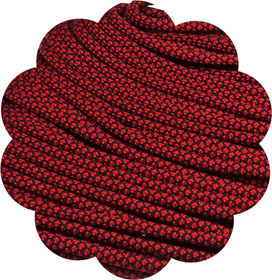 P.cord Paracord 550 Imperial Red Diamonds