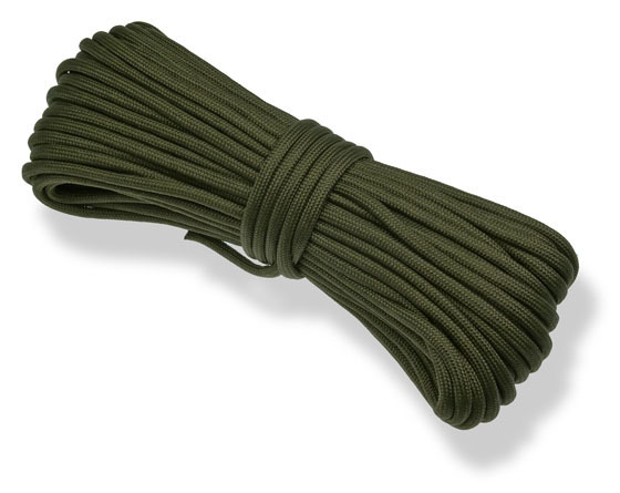 P.cord Paracord 550 Poly Army Green