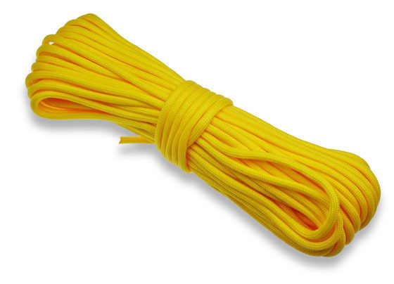P.cord Paracord 550 Poly Yellow