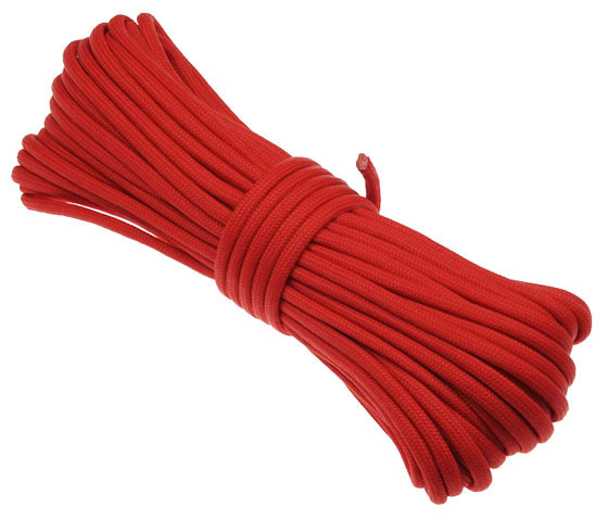 P.cord Paracord 550 Poly Red