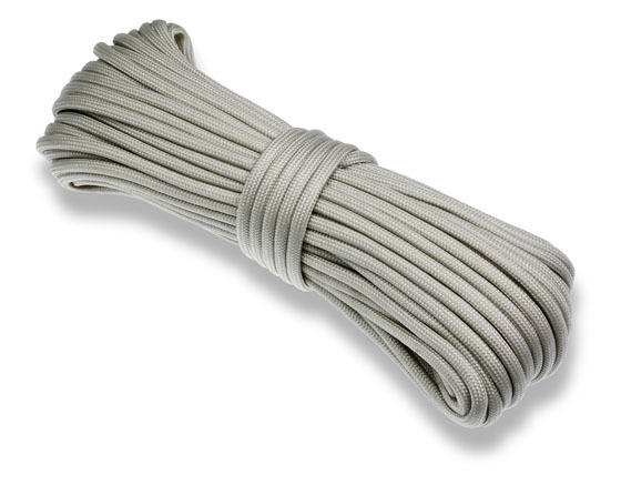 P.cord Paracord 550 Poly Light Grey