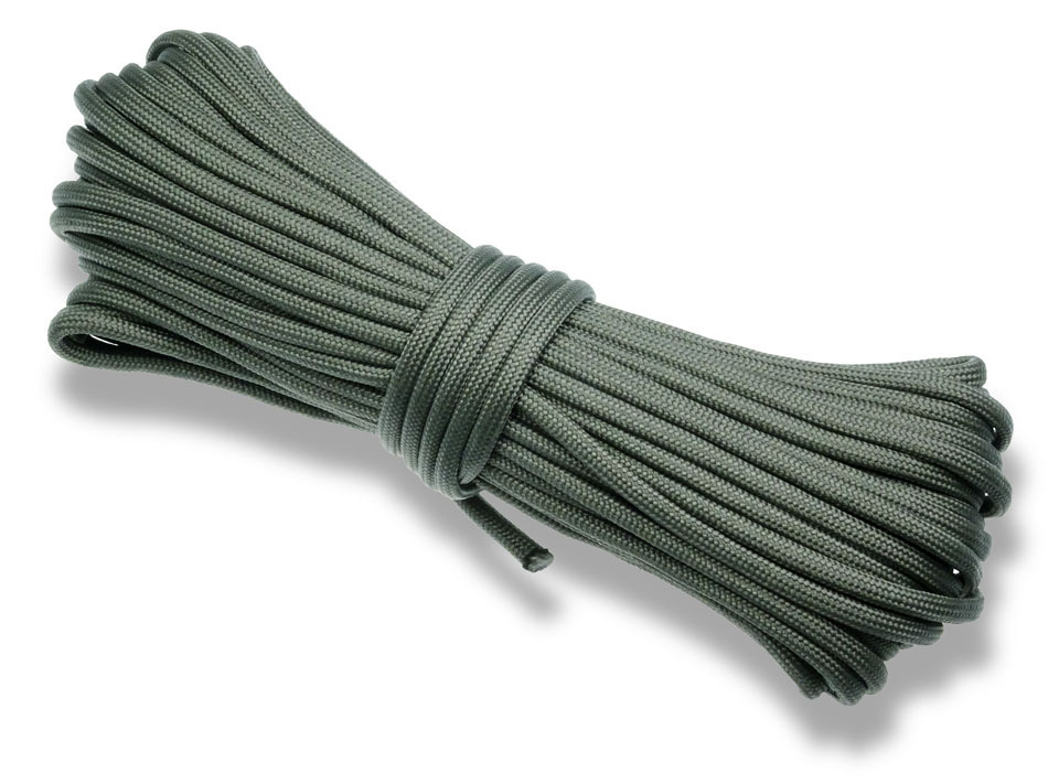 P.cord Paracord 550 Poly Dark Grey
