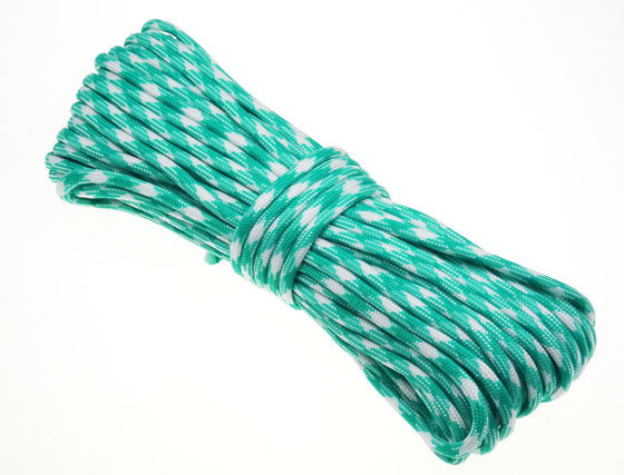 P.cord Paracord 550 Poly Acid Blue Camo