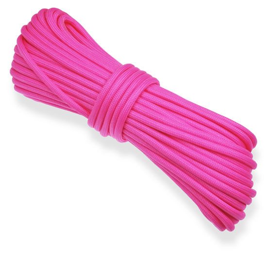 P.cord Paracord 550 Poly Bright Pink
