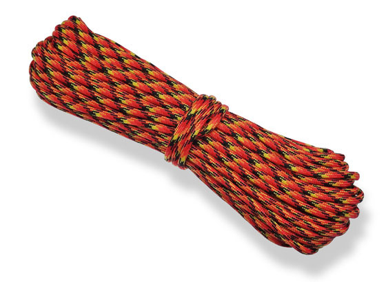 Paracord 550 Poly Fiery Camo