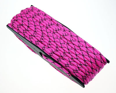 Paracord 550 Poly Bright Pink Camo