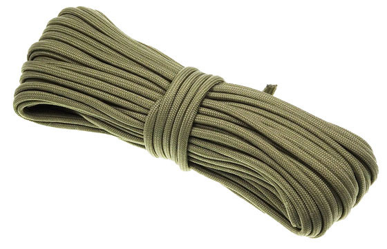 P.cord Paracord 550 Poly Covert Green