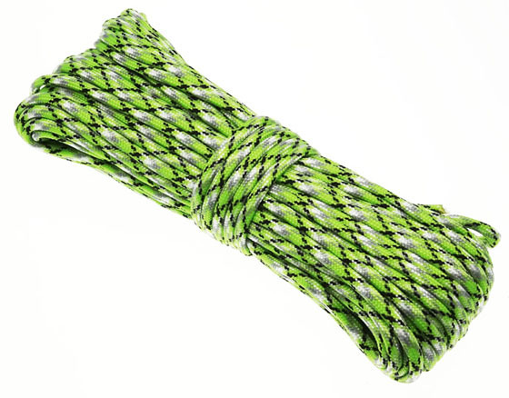 P.cord Paracord 550 Poly Green Spec Camo