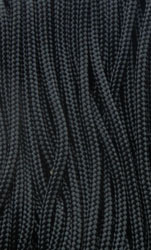 P.cord Paracord 425 Nylon, Black