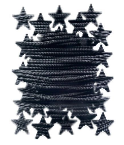 Paracord 425 Nylon, Black
