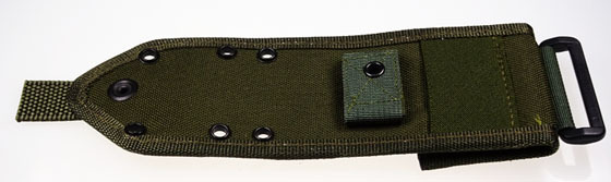 Molle-back for ESEE-3 + ESEE-4 olive drab