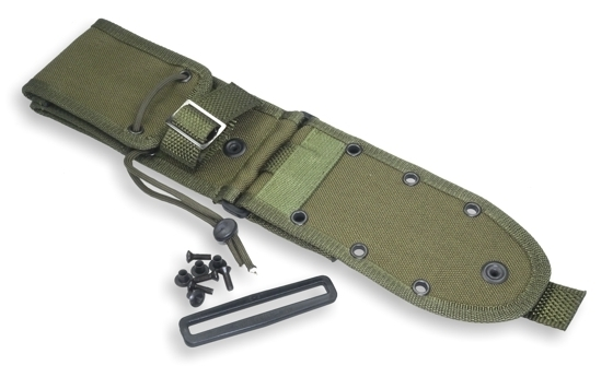 MOLLE-Back f. ESEE-5 + ESEE-6 olive drab