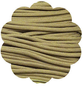 P.cord Paracord 550 Nylon, Brown-Gold