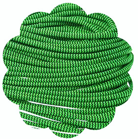 P.cord Paracord 550 Nylon, Neon Green Shockwave