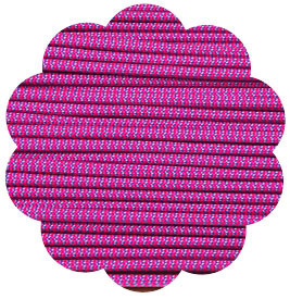 P.cord Paracord 550 Nylon, Neon Pink & Baby Blue