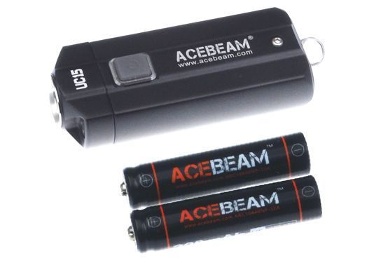 Acebeam UC15 black including batteries