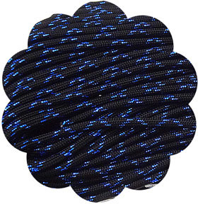 P.cord Paracord 550 Nylon, Blue Knight