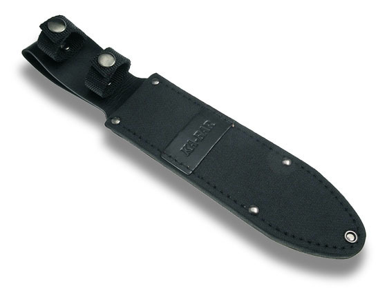 "Leder/Cordurascheide schwarz KA-BAR 8""-Fighter"