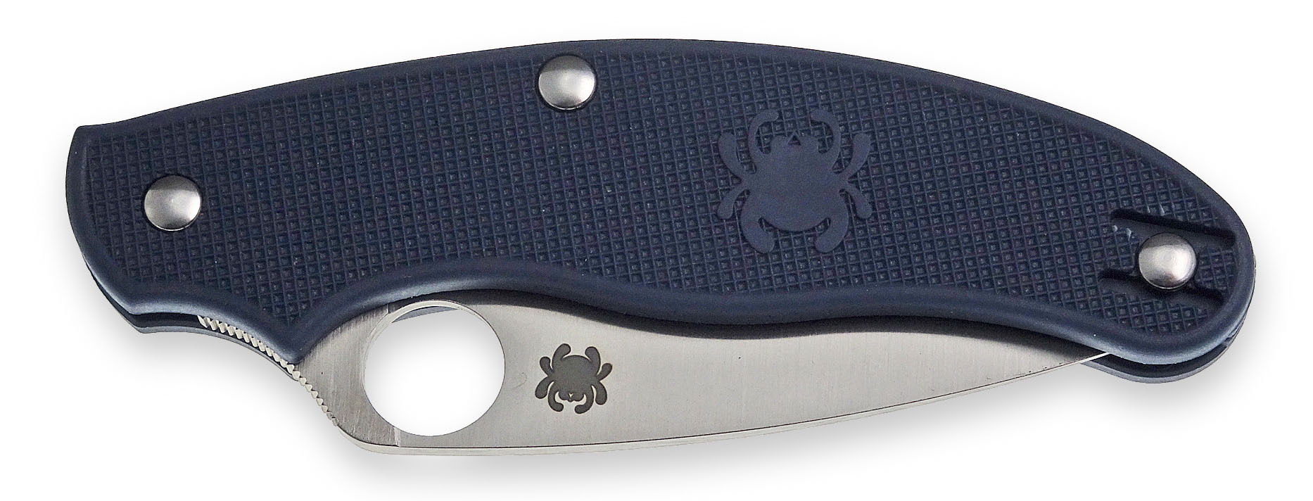 Spyderco UK Penknife Blue - outdoormesser.de