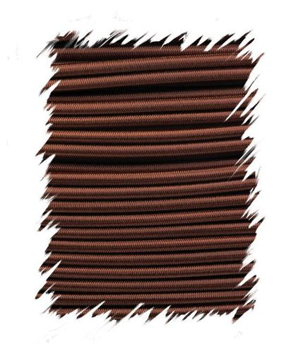 P.cord Shock Cord 4mm Chocolate Brown
