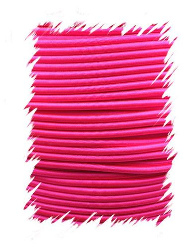 P.cord Shock Cord 4mm Neon Pink