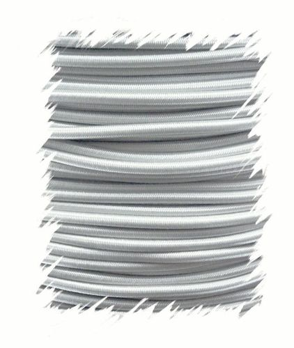 P.cord Shock Cord 4mm Silver Grey