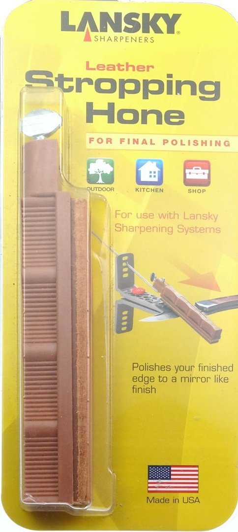 Lansky Leather Stropping Hone Polishing For Lansky Sharpening Systems HSTROP