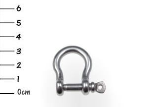 AISI316 Bow Shackle Stainless 5x32mm
