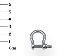 AISI316 Bow Shackle Stainless 4x25mm