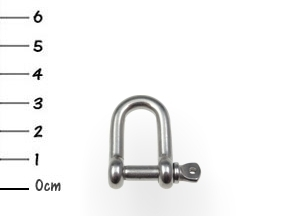 AISI316 D-Shackle Stainless 5x32mm