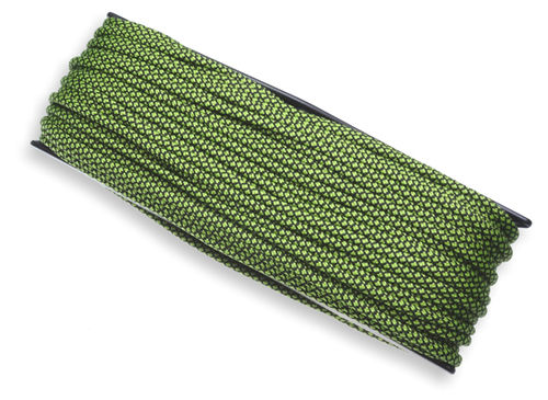 P.cord Paracord 550 Poly Fluor Green Snake