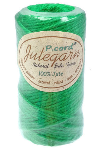 P.cord Jute Twine 4mm May Green