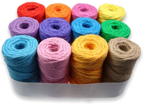 P.cord Jute Twine 4mm 12 for 10