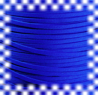 P.cord Paracord 650 Coreless Electric Blue