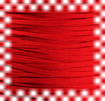 P.cord Paracord 650 Coreless Imperial Red