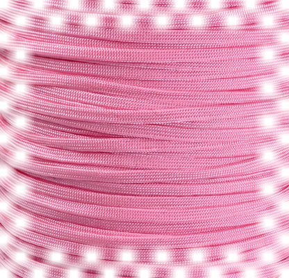 P.cord Paracord 650 Coreless Rose Pink